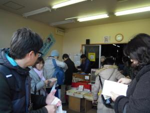 駅前の石田蒲鉾店の揚げたてコロッケ、美味しかった~