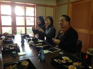 恵比須料理をいただきます。