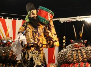ヤマタノオロチは人気の演目です。